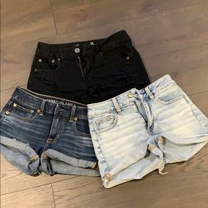 American Eagle Outfitters Shorts - FINAL PRICE Bundle of 3 American eagles shorts